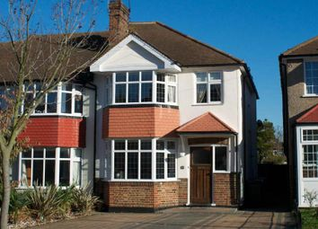 Thumbnail 3 bedroom terraced house to rent in Fairford Gardens, Worcester Park