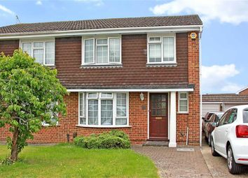 Thumbnail 3 bed semi-detached house for sale in Brompton Drive, Maidenhead, Berkshire