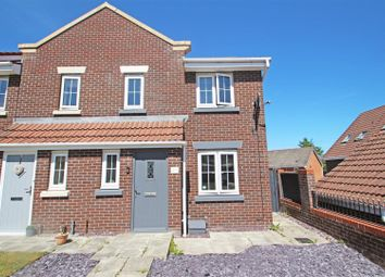 Thumbnail 3 bed semi-detached house for sale in Emerald Way, Milton, Stoke-On-Trent