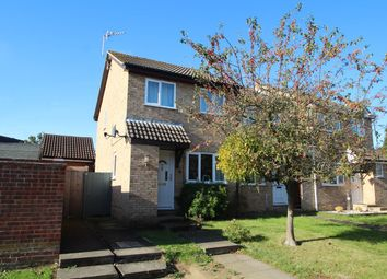 Thumbnail 2 bed end terrace house for sale in Hessett Close, Stowmarket