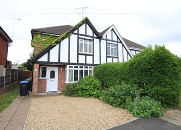 Thumbnail 4 bedroom semi-detached house for sale in The Crescent, Egham