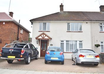 Thumbnail 4 bed semi-detached house to rent in Gooshays Drive, Romford