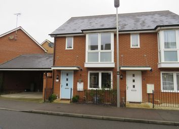 Thumbnail 2 bedroom semi-detached house to rent in Sinatra Drive, Oxley Park, Milton Keynes