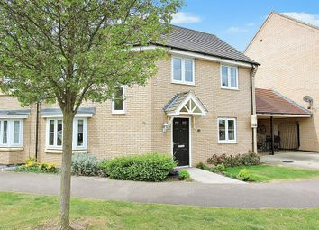 Thumbnail 3 bedroom semi-detached house for sale in Bourneys Manor Close, Willingham, Cambridge