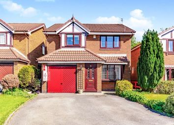 Thumbnail 4 bed detached house for sale in Tytherington Drive, Reddish, Stockport, Cheshire