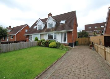 Thumbnail 3 bedroom semi-detached house for sale in Albany Road, Bangor