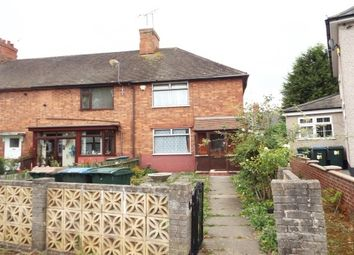Thumbnail 2 bed end terrace house to rent in Dugdale Road, Coventry