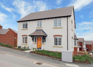 Thumbnail 4 bed detached house for sale in Wilkinson Close, Ashby-De-La-Zouch