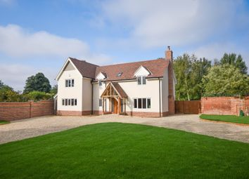Thumbnail 4 bedroom detached house for sale in Thurlow Road, Great Bradley, Newmarket