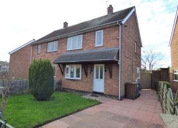 Thumbnail 2 bed semi-detached house to rent in Holts Lane, Tutbury, Burton-On-Trent