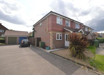 Thumbnail 3 bed semi-detached house for sale in Snipe Close, Erith