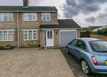 Thumbnail 3 bed semi-detached house for sale in Pasture Close, Colsterworth, Grantham