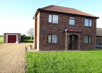 Thumbnail 3 bed detached house to rent in Lynn Road, Southery, Downham Market
