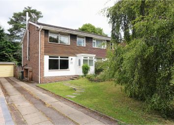 Thumbnail 3 bed semi-detached house for sale in Ashdown Road, Chandlers Ford