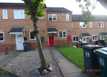 Thumbnail 2 bed terraced house to rent in Vicarage Gardens, Swadlincote, Derbyshire