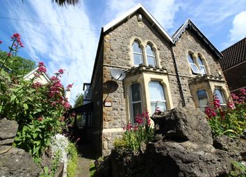 Thumbnail 2 bed semi-detached house for sale in Old Church Road, Clevedon