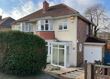Thumbnail 3 bed semi-detached house for sale in Wentworth Road, Leicestershire, Coalville