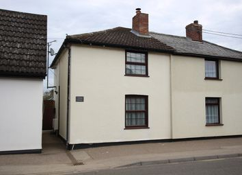 Thumbnail 1 bed semi-detached house for sale in Gipping Road, Great Blakenham, Ipswich, Suffolk