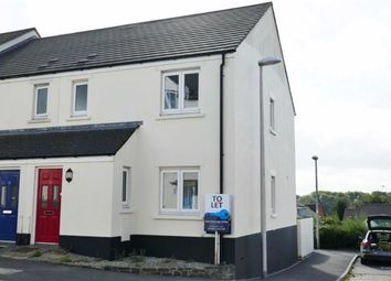 Thumbnail 3 bed semi-detached house to rent in Parsons Close, Holsworthy