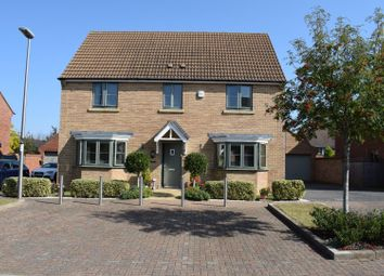 Thumbnail 4 bed detached house for sale in Weavers Lane, Oakridge Park, Milton Keynes