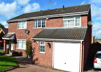 Thumbnail 4 bed semi-detached house for sale in Blackthorn Road, Glenfield, Leicester