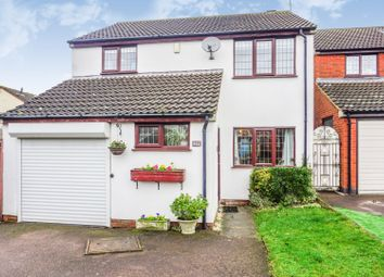 Thumbnail 3 bed detached house for sale in Carter Close, Leicester