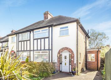 Thumbnail 3 bed semi-detached house for sale in Elm Way, Ewell, Epsom
