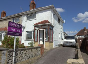 Thumbnail 2 bedroom semi-detached house for sale in Lupin Road, Southampton