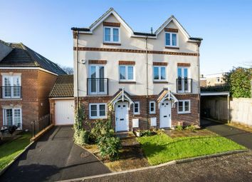 Thumbnail 4 bed semi-detached house for sale in Wolfe Close, Chichester