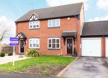 Thumbnail 2 bed semi-detached house for sale in Cobham Green, Whitnash, Leamington Spa