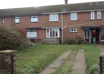 Thumbnail 3 bed terraced house for sale in Trinity Avenue, Gorleston, Great Yarmouth