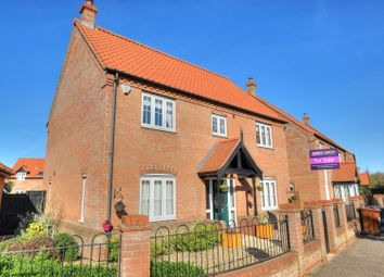 Thumbnail 4 bed detached house for sale in Waters Lane, Great Yarmouth