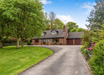 Thumbnail 4 bed detached house for sale in Wood Lane, Uttoxeter