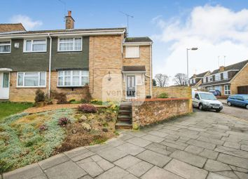 Thumbnail 4 bed end terrace house for sale in Holgate Drive, Luton