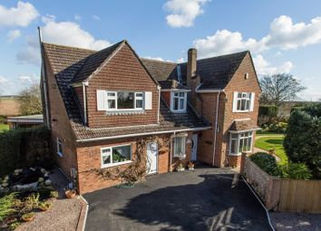 Thumbnail 5 bed detached house for sale in Hall Lane, Frampton, Boston