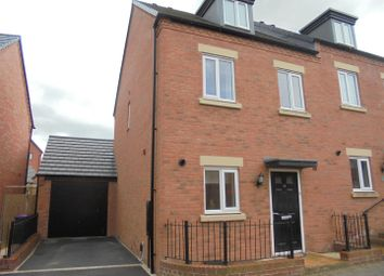 Thumbnail 3 bed property for sale in Lineton Close, Lawley Village, Telford
