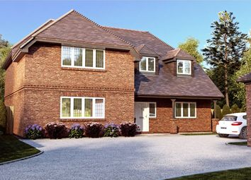 Thumbnail Detached house for sale in Roundabout Lane, Winnersh, Wokingham, Berkshire