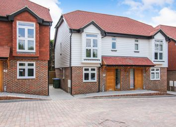 Thumbnail 3 bedroom semi-detached house for sale in Brighton Road, Horsham