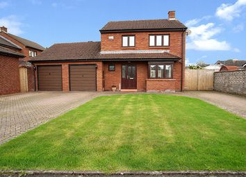 Thumbnail 3 bed detached house for sale in Simmerson Drive, Carlisle