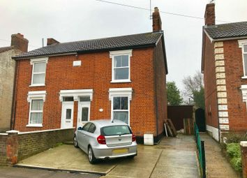 Thumbnail 3 bedroom semi-detached house for sale in Newton Road, Ipswich