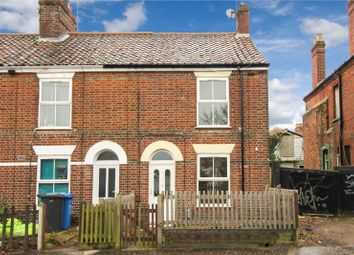 Thumbnail 2 bedroom end terrace house for sale in Magpie Road, Norwich