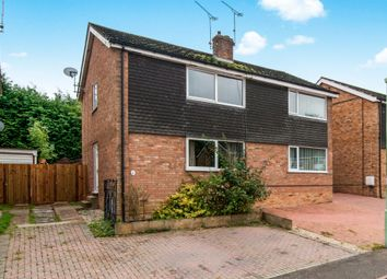 Thumbnail 3 bed semi-detached house for sale in Edgecomb Road, Stowmarket