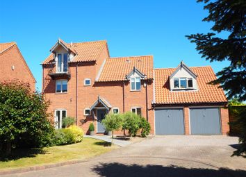 Thumbnail 4 bed detached house for sale in Church Meadow, Claypole, Newark