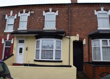 Thumbnail 4 bed terraced house to rent in 6 Cavendish Road, Edgbaston