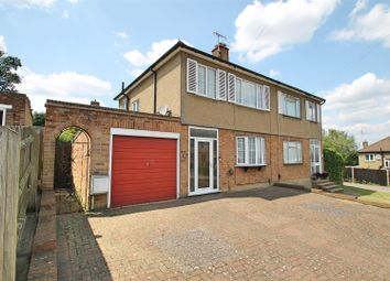 Thumbnail 3 bed semi-detached house for sale in Garratts Road, Bushey
