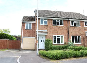 Thumbnail 4 bedroom semi-detached house for sale in Gladstone Close, Kintbury