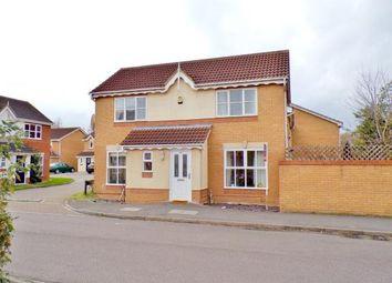 Thumbnail 3 bed detached house for sale in Armstrong Drive, Bedford, Bedfordshire