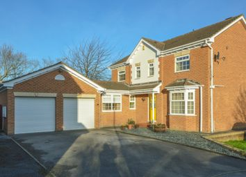 Thumbnail 5 bed detached house for sale in Lawns Court, Carr Gate, Wakefield