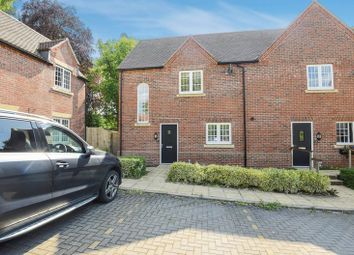 Thumbnail 2 bed semi-detached house for sale in Maida's Way, Aldermaston, Reading