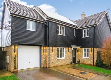 Thumbnail 5 bed detached house for sale in George Alcock Way, Farcet, Peterborough